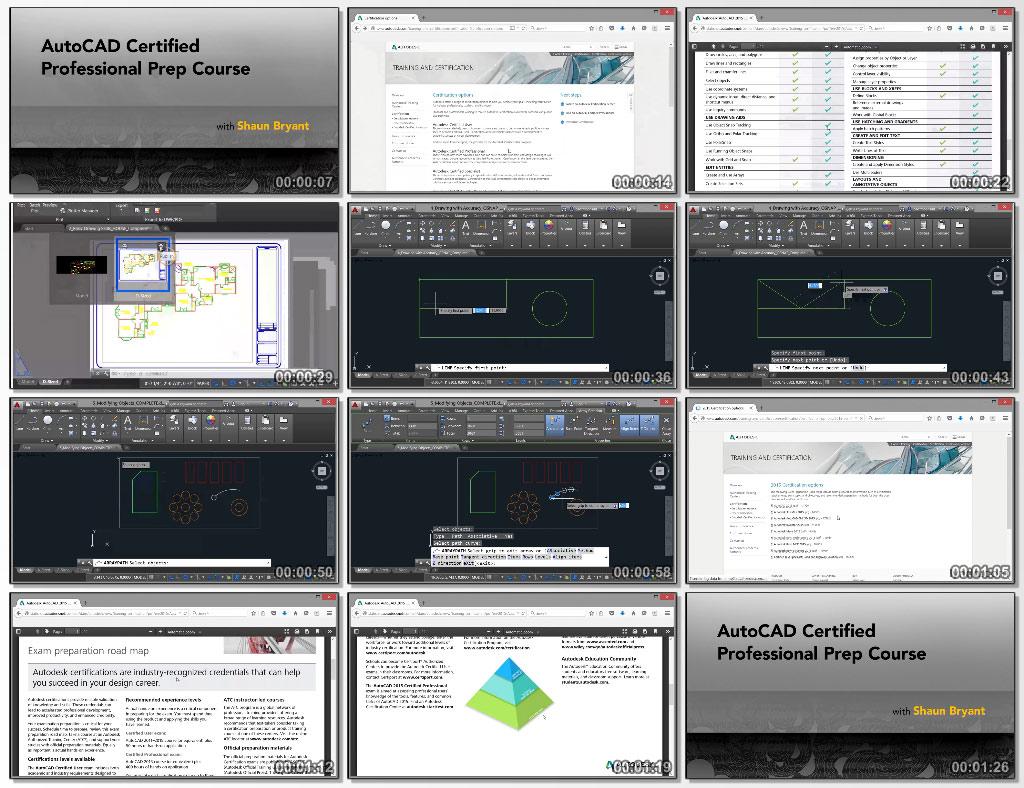 AutoCAD Certified Professional Prep Course