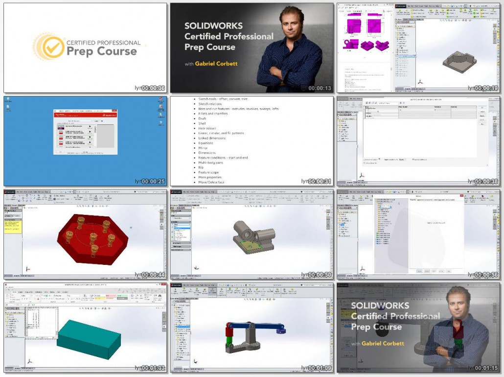 Certified SOLIDWORKS Professional Prep Course