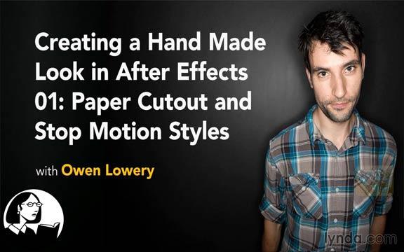 دانلود فیلم آموزشی Creating a Handmade Look in After Effects 01