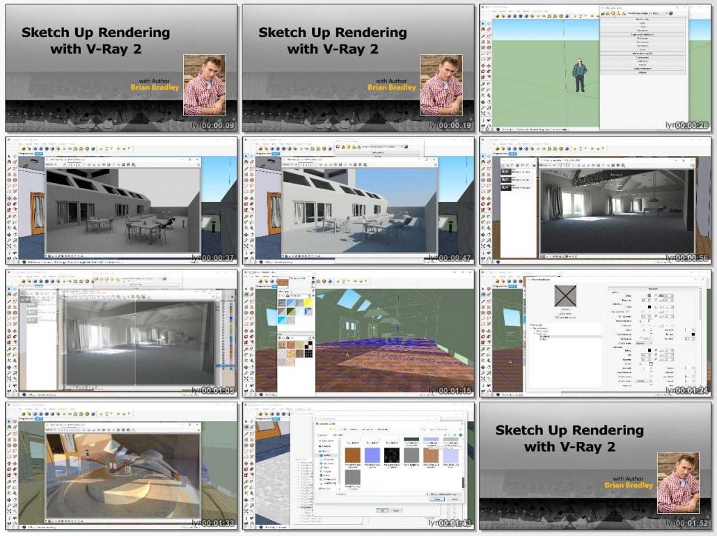 SketchUp Rendering Using V-Ray 2