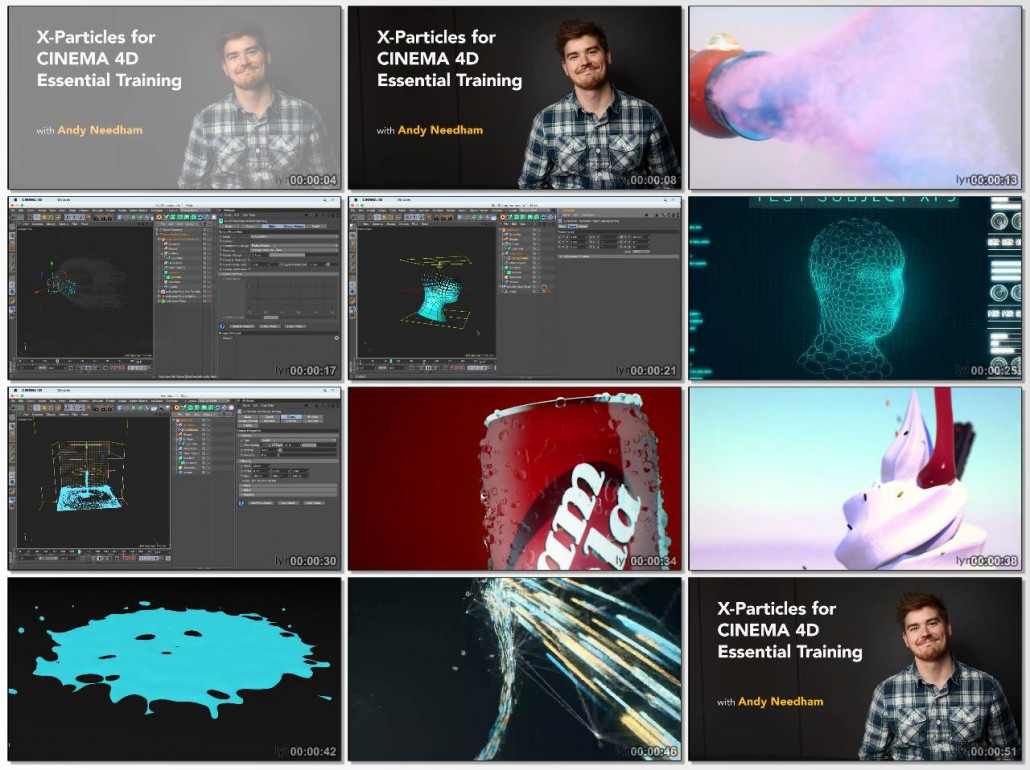 X-Particles for CINEMA 4D Essential Training