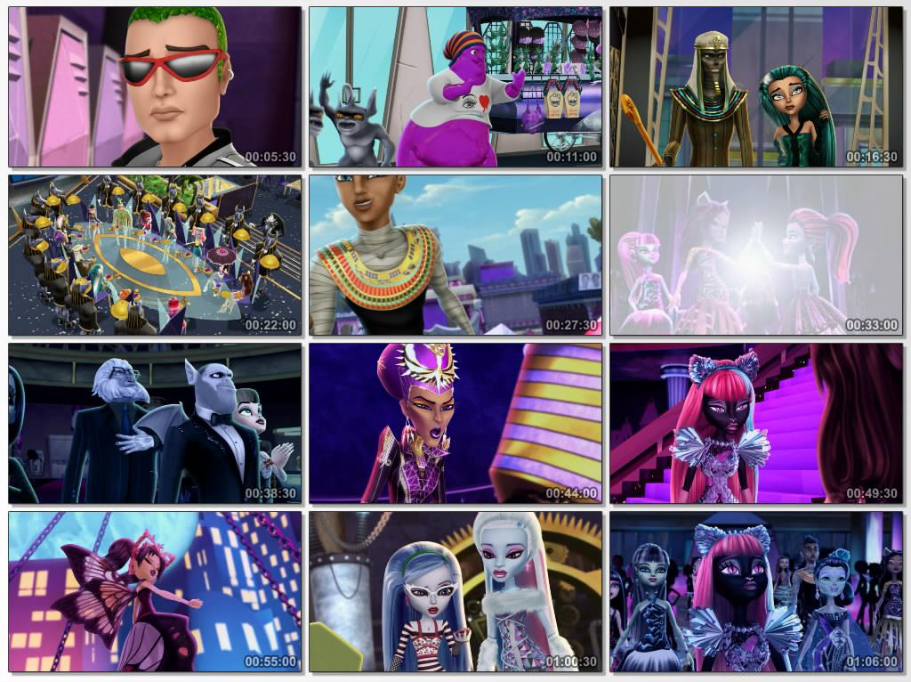 دانلود انیمیشن Monster High Boo York Boo York 2015