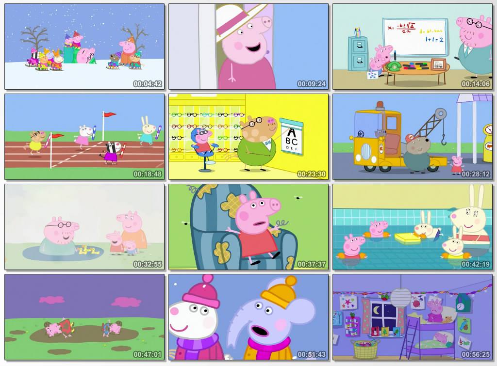 دانلود انیمیشن peppa pig cold winter day 2015