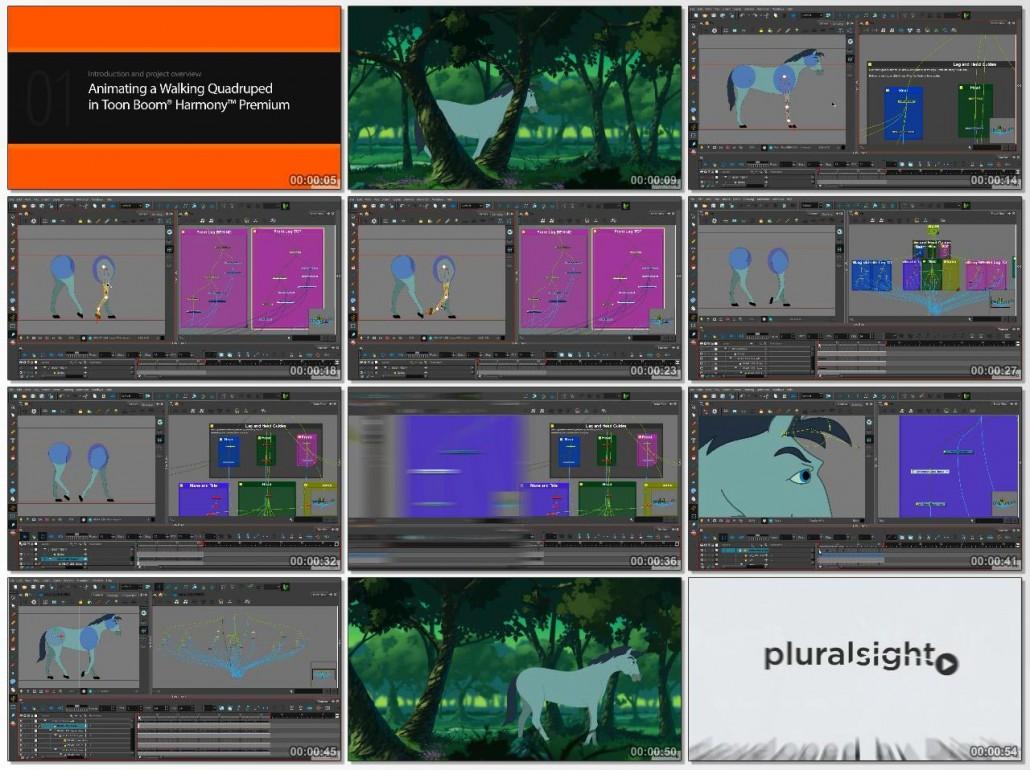 Animating a Walking Quadruped in Toon Boom Harmony Premium