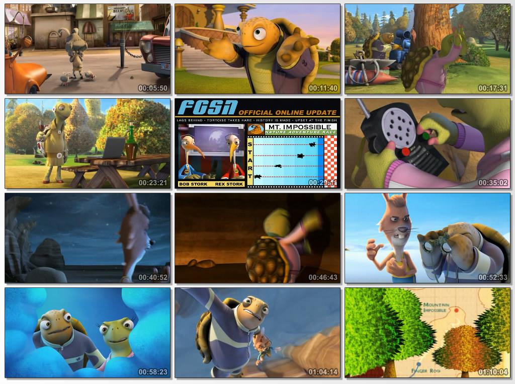 دانلود انیمیشن Unstable Fables Tortoise vs Hare 2008