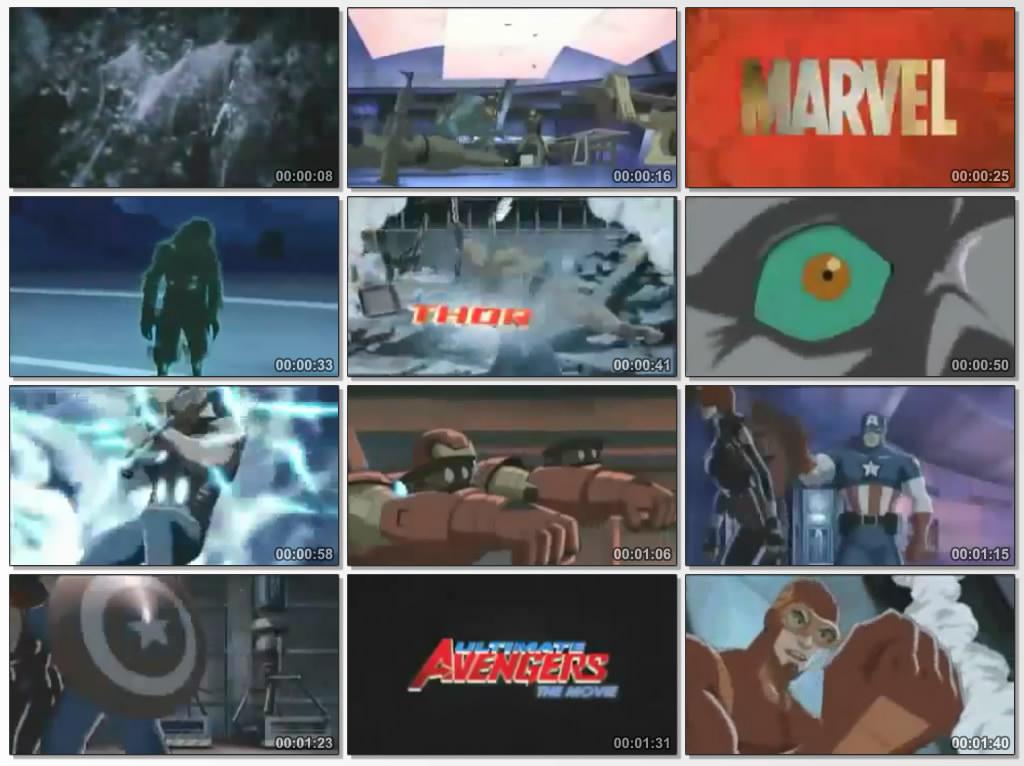دانلود انیمیشن کارتونی Ultimate Avengers 2006