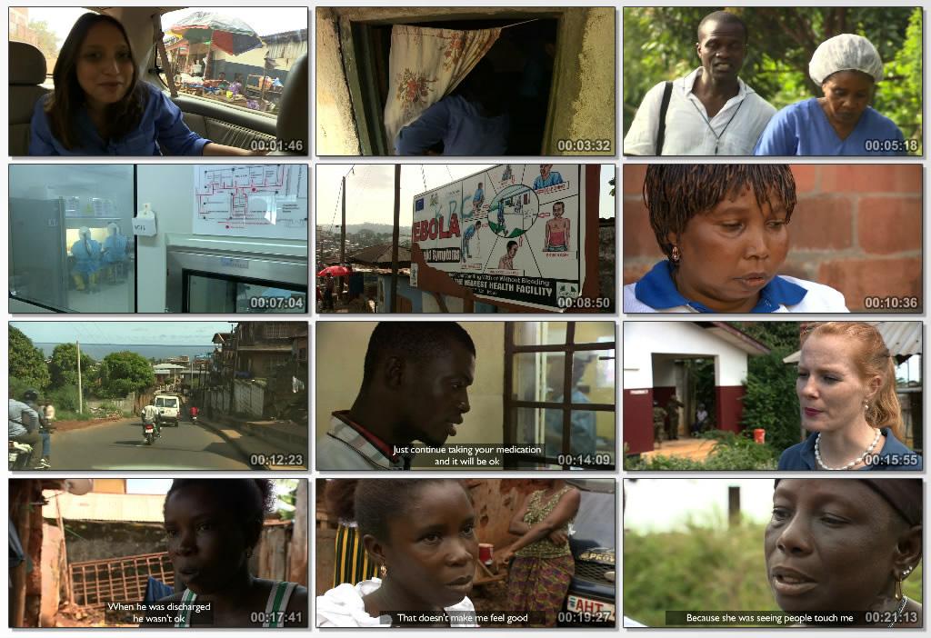 دانلود فیلم مستند Surviving ebola 2015