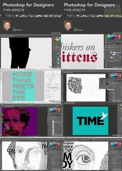 Photoshop For Designers Type Effects