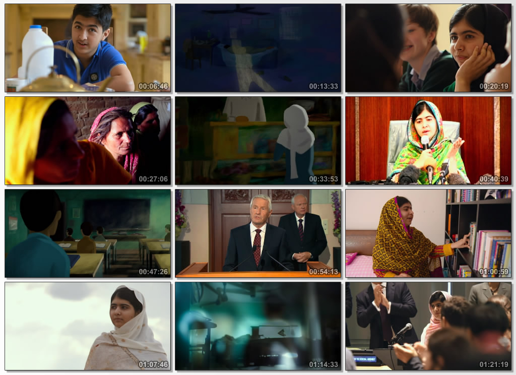 دانلود فیلم مستند He Named Me Malala 2015