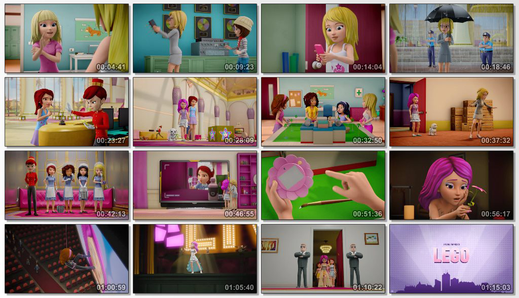 دانلود انیمیشن LEGO Friends Girlz 4 Life 2016