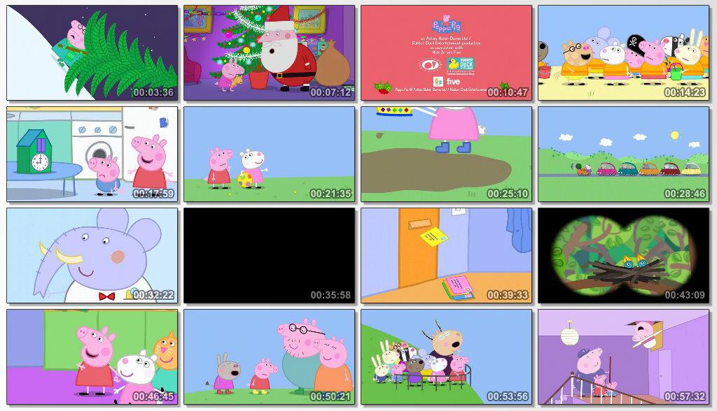 دانلود انیمیشن Peppa Pig Peppas Christmas 2015