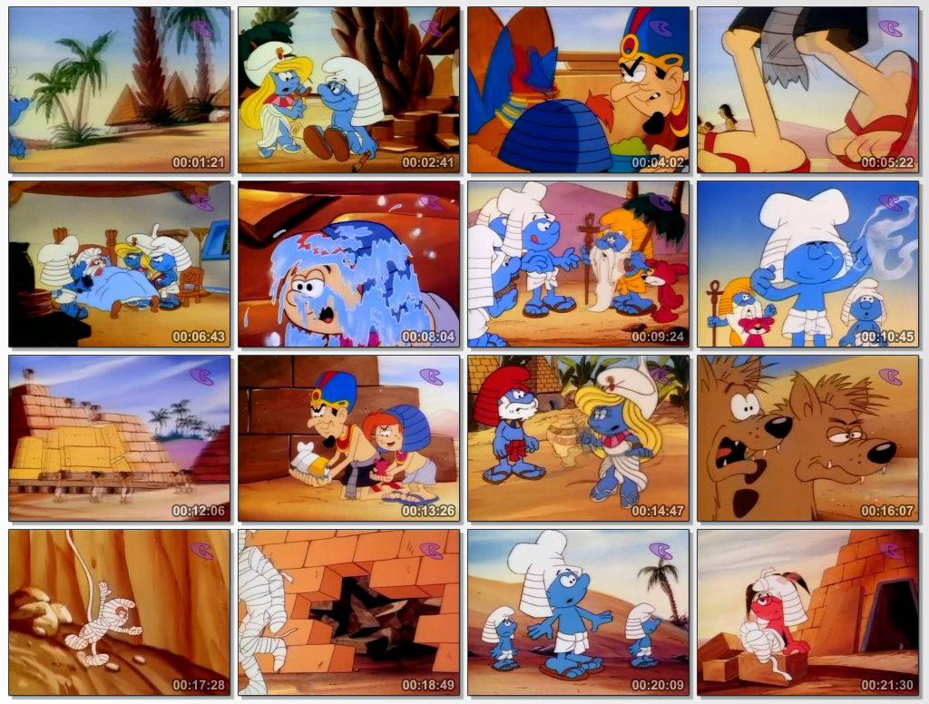 دانلود انیمیشن سریالی The Smurfs 1981