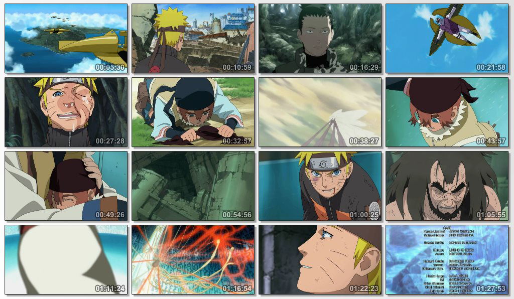 دانلود انیمیشن Naruto Shippuden The Movie Bonds 2008