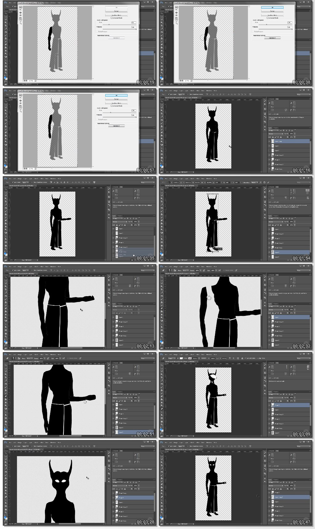 Photo Manipulation Techniques in the Character Design Process