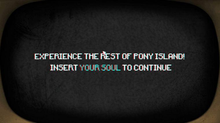 دانلود بازی کامپیوتر Pony Island نسخه GOG