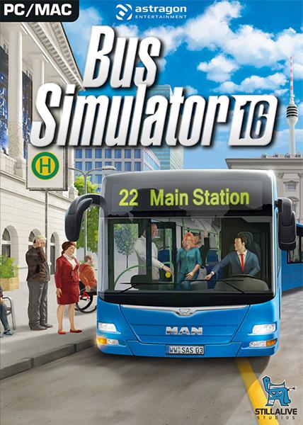 نتیجه تصویری برای دانلود بازی Bus Simulator 16 برای PC