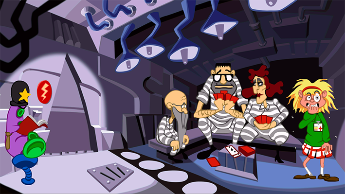 Day of Tentacle Remastered Screen 1