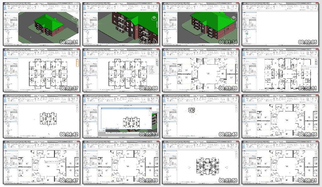 Advanced revit architecture 2017 training dvd video