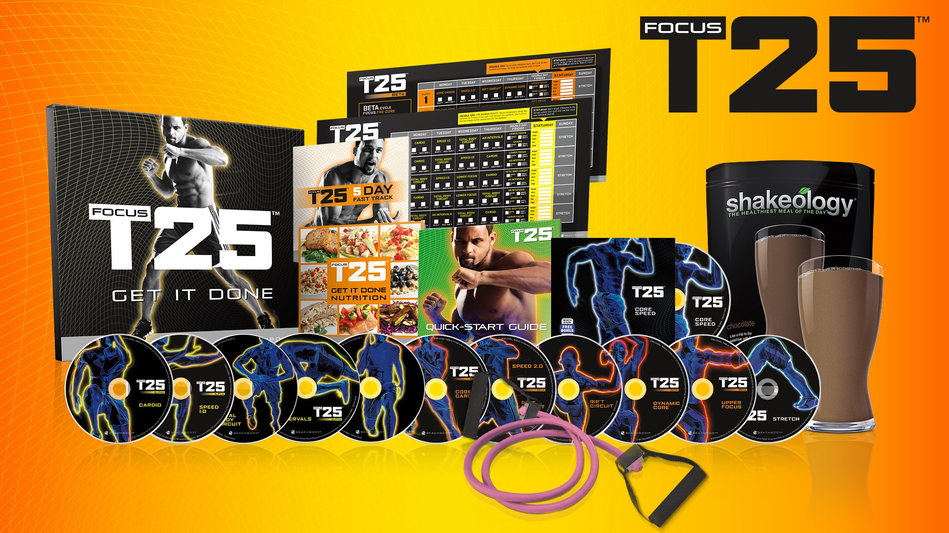 FOCUS T25 Workout