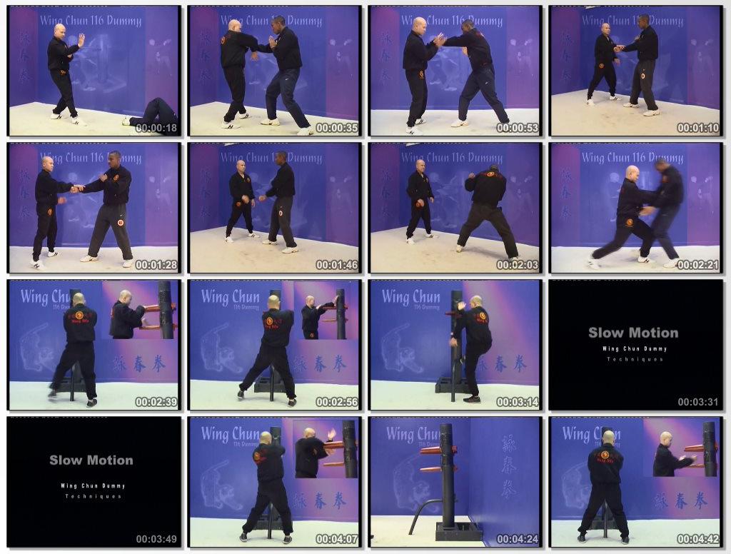 Wing Chun 116 Dummy Training
