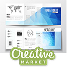 دانلود CreativeMarket Bundle of 25 Brochure Templates