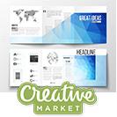 دانلود CreativeMarket Bundle of 25 Brochure Templates