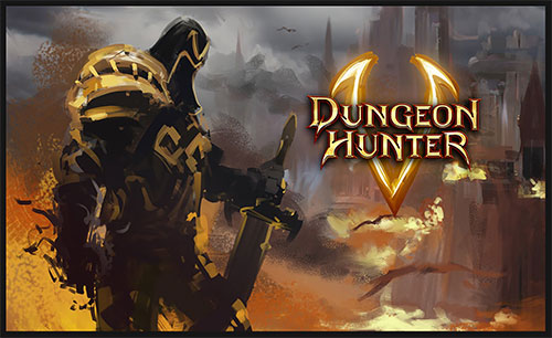 Dungeon Hunter 5 cover