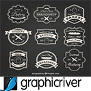 دانلود Graphicriver The Vintage Logo & Badge Collection