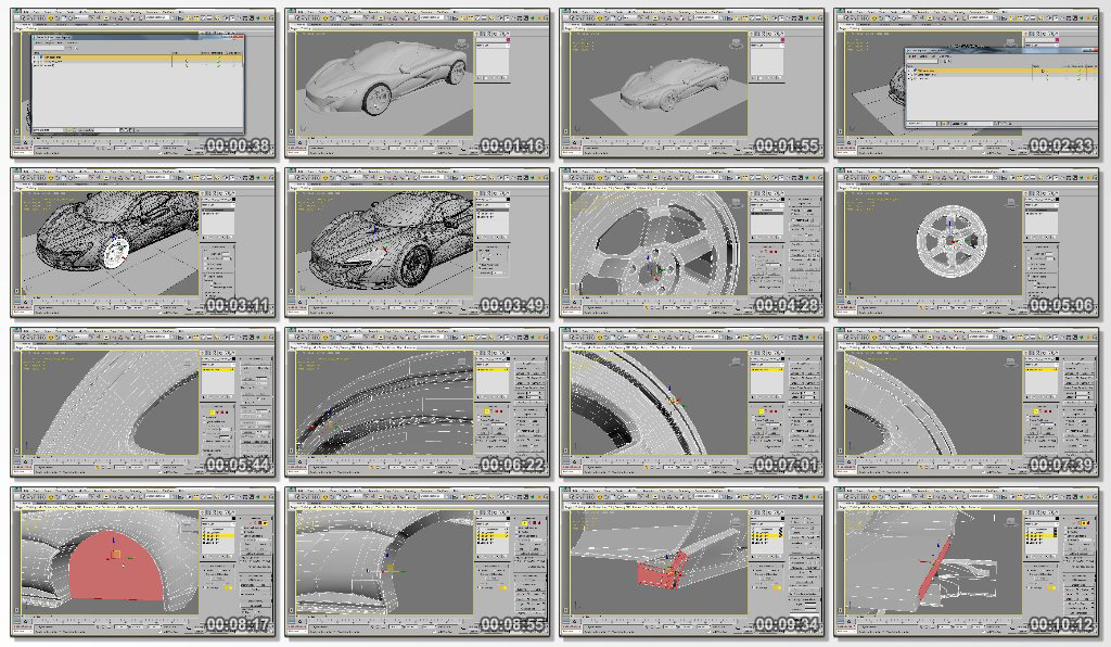 Modeling A High Performance Vehicle In 3ds Max