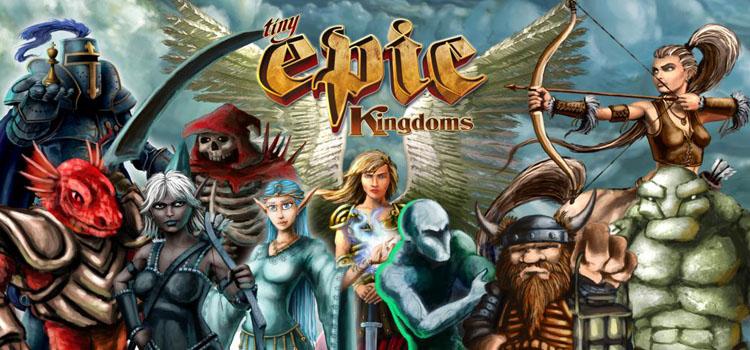 دانلود بازی کامپیوتر Tabletop Simulator Tiny Epic Kingdoms نسخه SKIDROW