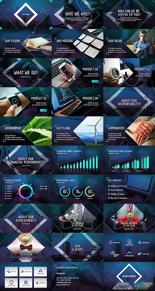 Videohive Business Of The Future Modern Corporate Presentation