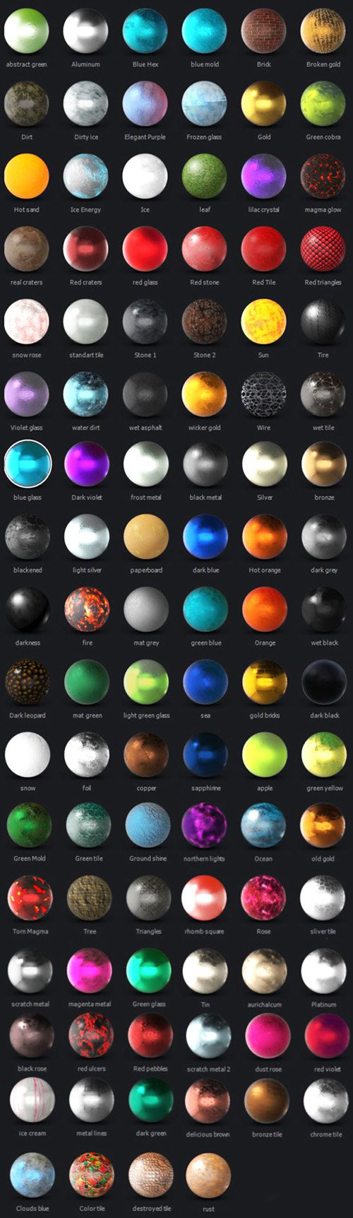 Videohive.Elite.Shaders.for.Element.3D.v2.www.Download.ir