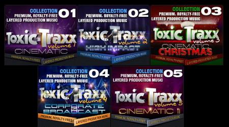 دانلود مجموعه افکت های صوتی Digital Juice Toxic Traxx Collection