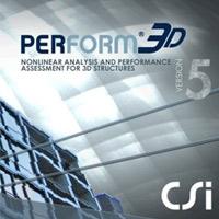 دانلود نرم افزار طراحی ، تحلیل و ارزیابی سازه های مهندسی CSI Perform 3D