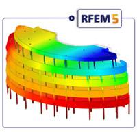 دانلود نرم افزار مدلسازی و آنالیز سازه سه بعدی Dlubal RFEM