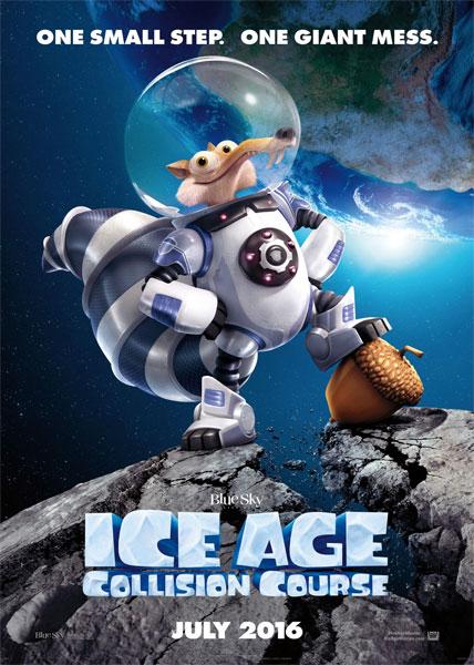 دانلود انیمیشن عصر یخبندان 2016 Ice Age Collision Course دوبله فارسی