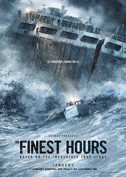 دانلود فیلم بهترین ساعات The Finest Hours 2016 با دوبله فارسی