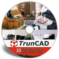 دانلود نرم افزار طراحی دکوراسیون و معماری داخلی TrunCAD 3DGenerator