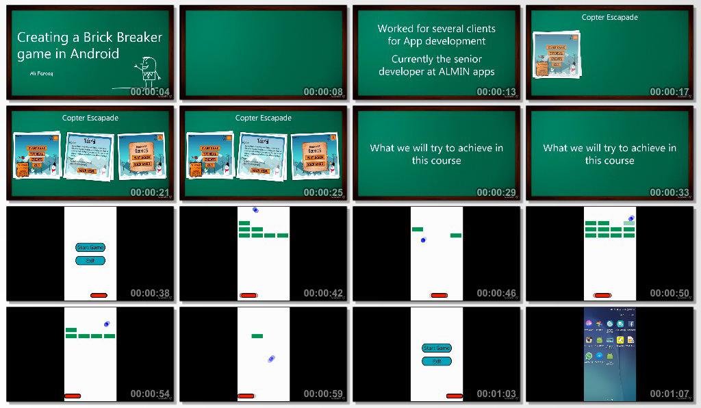 دانلود فیلم آموزشی Create an Android Game Without an Engine in Android Studio
