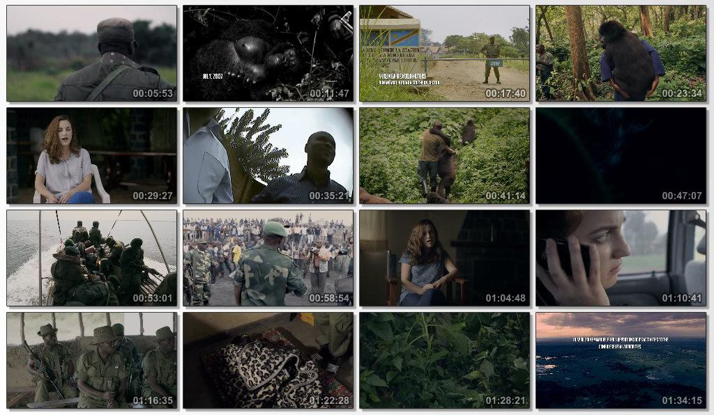 دانلود فیلم مستند Virunga 2014