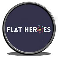 دانلود بازی کامپیوتر Flat Heroes