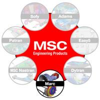 دانلود نرم افزار حل عمومی مسائل المان محدود MSC Marc 2016