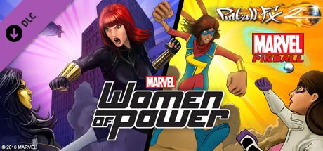 دانلود بازی کامپیوتر Pinball FX2 Marvels Women of Power نسخه SKIDROW