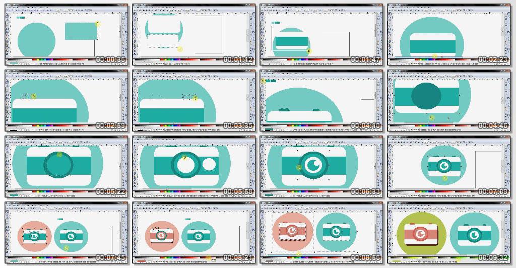 دانلود فیلم آموزشی Create Flat Designs with Inkscape
