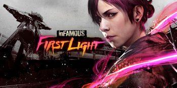 دانلود بازی inFAMOUS First Light برای ps4