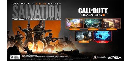 دانلود دی ال سی Call of Duty Black Ops III Salvation DLC نسخه RELOADED