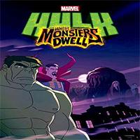 دانلود کارتون Hulk Where Monsters Dwell 2016