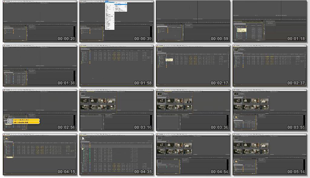 دانلود فیلم آموزشی Narrative Scene Editing with Premiere Pro