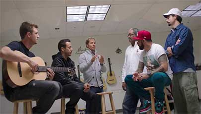 مستند Backstreet Boys: Show 'Em What You're Made Of