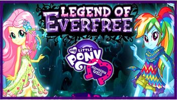 دانلود انیمیشن My Little Pony Equestria Girls Legend of Everfree 2016
